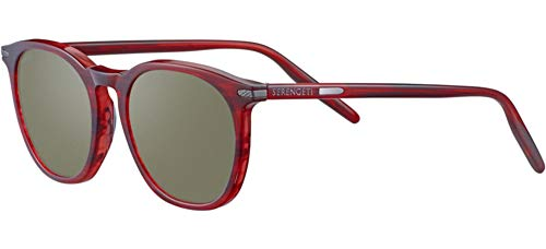 Gafas de Sol Serengeti ARLIE Red Streaky/Mineral Polarized Nm 52/20/145 unisex