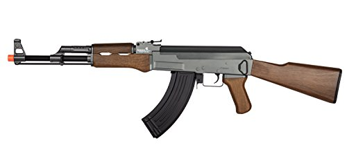 UKARMS Lancer Tactical LT-728 AEG AK-47 Electric Airsoft Gun Rifle