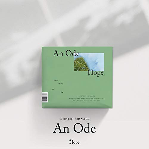 Pledis Entertainment Seventeen - An Ode [Hope Ver.] (Vol.3) CD+2Photobooks+4Photocards+Póster+Double Side Extra Photocard Set
