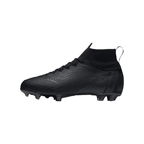 Nike Junior Superfly 6 Academy GS SG Pro Football Boots AH7338 Soccer Cleats (UK 4 US 4.5Y EU 36.5, Black Black 001)