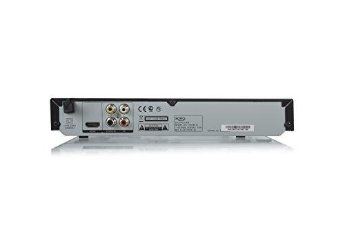 Xoro HSD 8470 HDMI MPEG4 DVD-Player (USB 2.0, Mediaplayer, 1080p Upscaling, MultiROM) schwarz & Goobay HDMI High Speed Kabel 4K, Ultra-HD, Full-HD, 3D, vergoldete Stecker 1,5 m