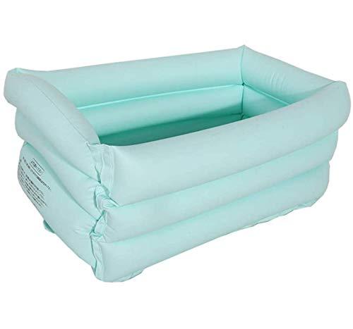 MASX Piscina Inflable De PVC para Niños, Bañera Grande Y Plegable, Rectángulo para Niños, Cubo De Bañera Caliente para Bebés, Uso Doméstico, Piscina para Niños, Juguetes para Niños Pequeños