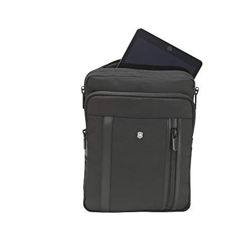 Victorinox Werks Professional 2.0 Tablet-Umhängetasche - 13 Zoll Tablet oder Laptop Damen/Herren - Schwarz