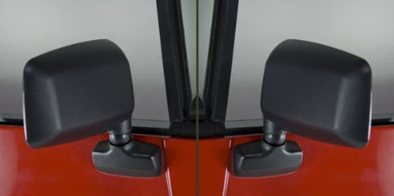 Rugged Ridge 11002.19 Black Side Mirror Kit - Pair