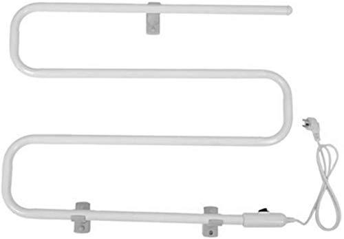 L&B-MR Toallero Eléctrico Toalla de Toalla de Tipo S-Tipo S, Estante de calefacción de Toallas de Toalla de baño, Estante de Toalla de Secado Toalla de Tela montada en la Pared Rack de Secado