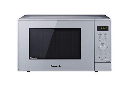 Panasonic NN-GD36HMSUG Forno a Microonde Combinato Inverter, Grill e Cottura a Vapore, 17 Programmi Automatici