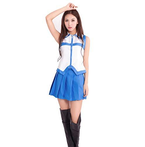 Memory meteor Vestido de Lucy Heartfilia Fairy Tail para Mujer Disfraces de Cosplay Tops y Faldas