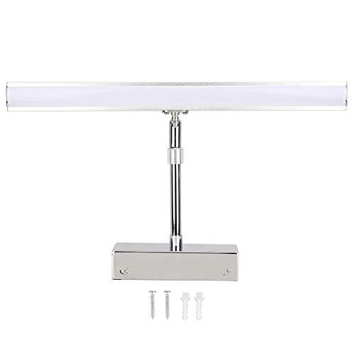 NATRUSS Lumière de Miroir, Applique Murale LED à Haute Transmittance, antibrouillard à lumière Douce pour Salle de Bain pour Toilette