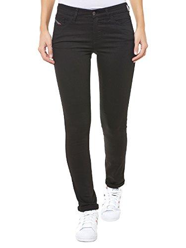 Diesel Jeans da donna Denim nero 26W x 32L