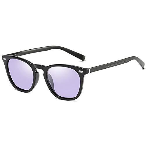 SHEEN KELLY Vintage Johnny Depp Gafas de sol redondas gafas de sol polarizadas para hombres mujeres Gafas de sol de aluminio y magnesio Lente fotocromática