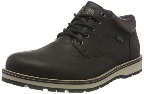Rieker Herren 18440 Mode-Stiefel, schwarz, 43 EU