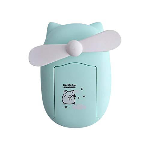 Mini Spray Glow Handventilator Persönlicher tragbarer Kinderwagen Kühlung Elektrischer Ventilator Cartoon niedlicher Handleuchtender Mini-Ventilator Kompakter t