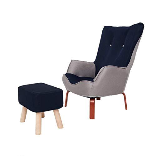 Divano pigro Pigro Président + Pédale, Alto Retour semplice Canapé Chaise, duttile pigro divano chaise longue, chaise de jardin, salone, chambre, Balcon, Bureau (Colore: A) .Divano letto pigro.