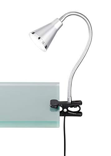 Reality Arras Focos y lámparas de Pinza SMD, 5 W, Titán, 46 x 7 cm