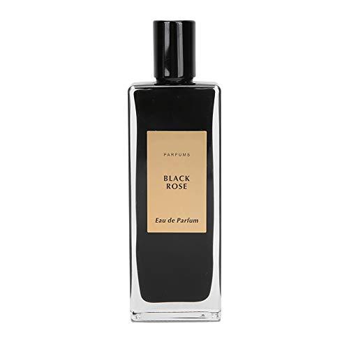 50ml Black Rose Women Lady Perfume, Fragancia ligera en spray Eau de Parfum Spray Gift, Fragancia fresca de rosa negra para uso diurno, nocturno y ocasiones especiales