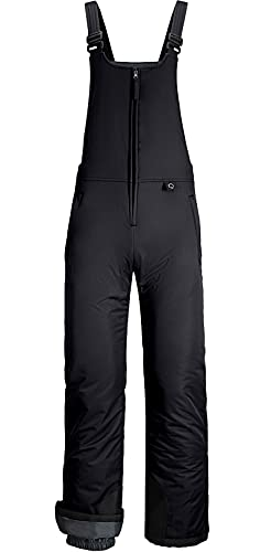 GEMYSE Women's Insulated Waterproof Ski Bib Overalls Winter Snowboarding Pants