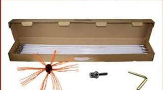Alixena-Cepillo deshollinador rotatorio torbellino para tala