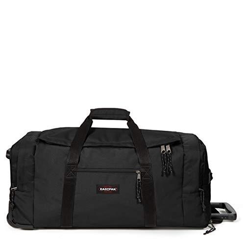 Eastpak Leatherface L + Reisetasche, 86 cm, 104 Liter, Black