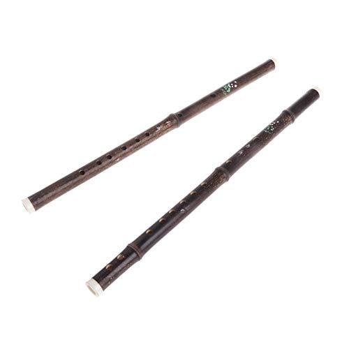 chenran Zubehör Bambusflöte EIN Abschnitte Handgemachte Dizi Musikinstrument Geschenk (Color : F)