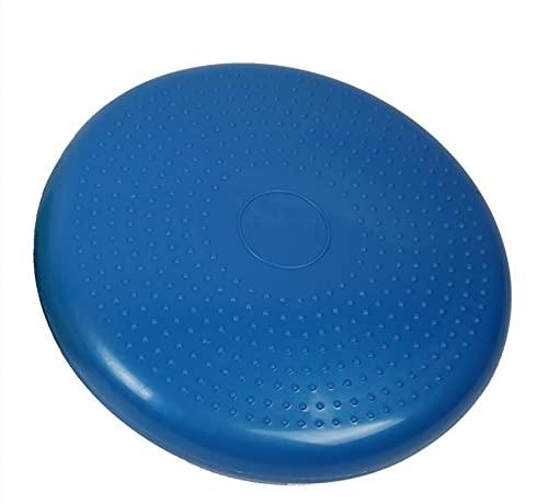 Balance Cojín De Entrenamiento De Rehabilitación Cojín De Tobillo Entrenamiento De Yoga Almohadilla De Masaje Estable Cilindro de Suministro de Aire Azul Más tamaño de Bola de Yoga