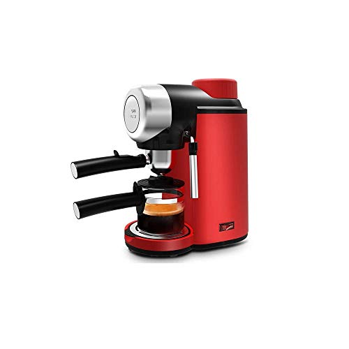 Qinmo Iced coffee maker,Super Automatic Espresso Machine In Black Wand Frothing For Latte And Cappuccino Drinks Espresso From Pre-Ground Or Whole Bean Coffee Mini Drip Steam