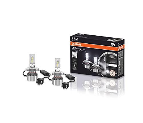 OSRAM LEDriving HLT, ≜H4, lámparas LED para faros delanteros para camiones de 24 V, solo uso todoterreno, no ECE, caja plegable (2 lámparas)