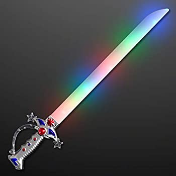 FlashingBlinkyLights Swashbuckler Pirate LED Light Up Sword with Battle Sound Effects…
