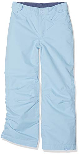 Roxy Backyard Pantalones, Niñas, Azul (Powder Blue), 14/XL