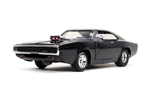 Jada Toys Fast & Furious F9 1:24 1970 Dom's Dodge Charger Die-cast Car, Toys for Kids and Adults (31942)