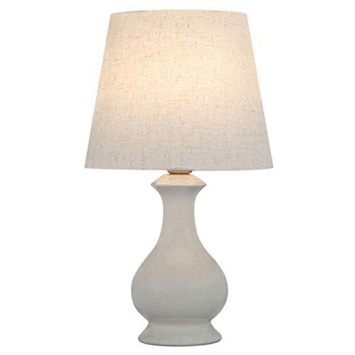 ZHANJIN Lámpara de Mesa de cerámica, lámpara de Noche de Dormitorio Minimalista Moderna nórdica, lámpara de Mesa Decorativa de atenuación de Villa, luz de Noche Agrietada