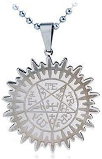 willatram Black Butler Anime Pendant Necklace (Silver)