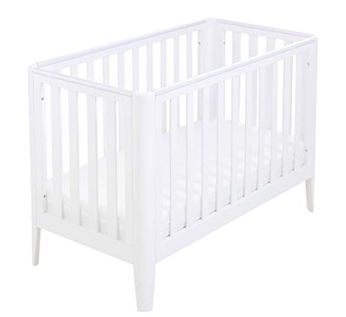 Babymore Iris Cot Bed – White