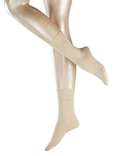 ESPRIT Damen Uni Socken - 2 Paar, Elfenbein (Cream 4011), 35-38