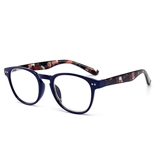 73JohnPol Lesebrille Presbyopic Brille PC Full Frame +1.0 bis +4.0 Tragbares Geschenk für die Altenpflege der Eltern