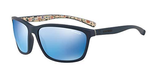 Ray-Ban mannen 0AN4249 zonnebril, (blauw rubber), 63