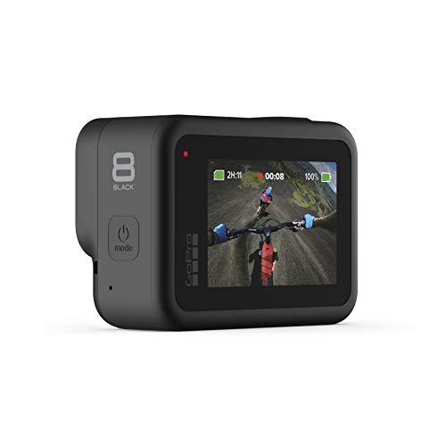 Product Image 1: GoPro HERO8 Black 4K Waterproof Action Camera – Black (Renewed)