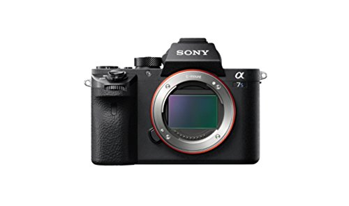 """Sony α7S II ILCE-7SM2 - Cámara con montura tipo E de 12.2 megapíxeles, fotograma completo (35 mm), ISO 409600, vídeo 4K, pantalla 3"""", color negro"""