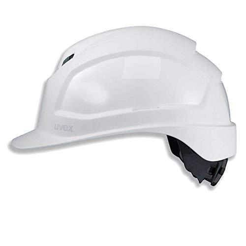 Uvex Pheos IES Schutzhelm - Belüfteter Arbeitshelm für die Baustelle - Weiß Weiß