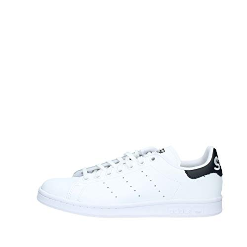 Adidas Originals Stan Smith, Zapatillas Deportivas Unisex Niños, Blanco (Footwear White/Core Black/Footwear White 0), 38 2/3 EU