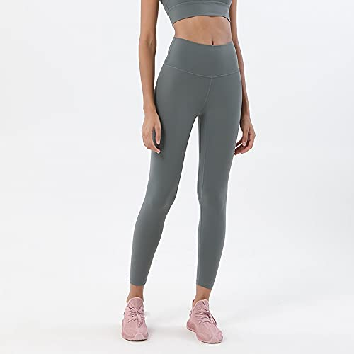 Mujer Deporte Leggins Sexy Mallas Pantalones De Yoga Leggings Pantalones De Mujer Medias Elásticas Gimnasio Fitness Cintura Alta Pantalones Deportivos Transpirables Medias De Mujer