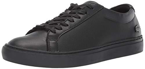 Lacoste L.12.12 Zapatillas de Moda para Hombre, Negro/Negro, 10
