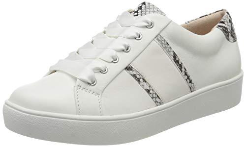 Gerry Weber Shoes Damen Lilli 19 Sneaker, Mehrfarbig (Weiß-Kombi 001), 39 EU