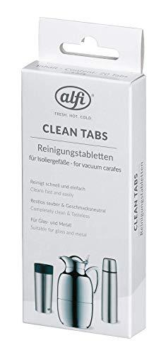 alfi 2900.003.001 Reinigungstabletten CleanTab 20 Stk., gegen hartnäckige Verschmutzungen von Isoliergefäßen