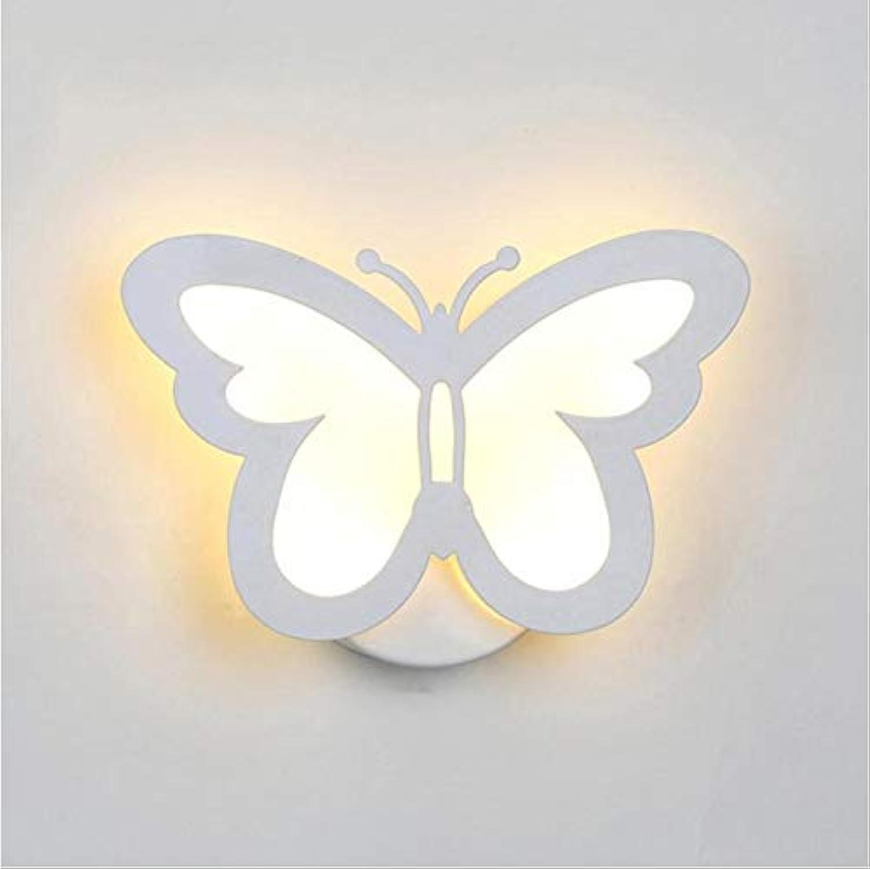 Schmetterling Blattform Wandleuchte Licht SchmetterlingLEDLicht Wohnzimmer Korridor Nachtwandleuchte