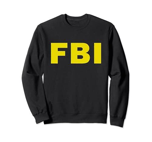 Disfraz del FBI de la Oficina Federal de Investigaciones Sudadera