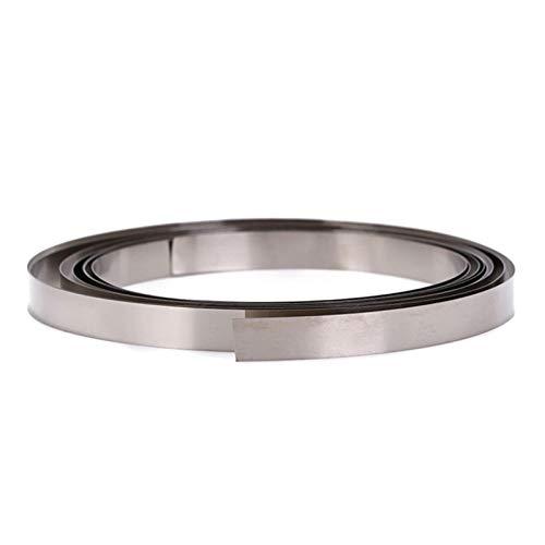 Bitcircuit Reiner Nickelstreifen 2m 0,15x8mm Nickel Für 18650 Löten, Li-Po-Batterie, Schweißen Kompatibel Für Punktschweißgerät, Reines NI-Plattenschweißstreifen (0,15 X 8 Mm, 2M)