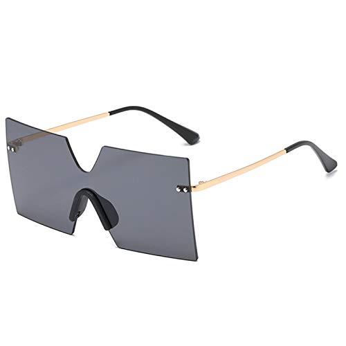 Sunglasses Gafas de Sol de Moda Gafas De Sol con Montura Grande Diseñador De Moda Mujeres Hombres Gafas De Sol Cuadradas