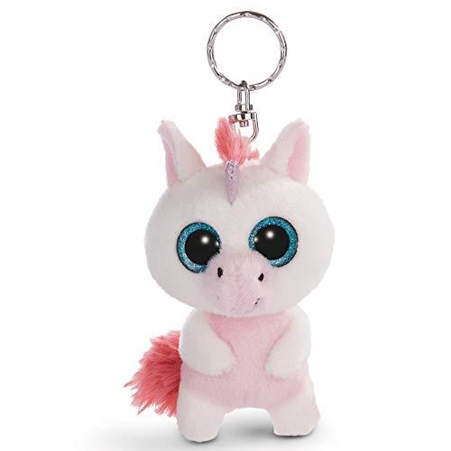 NICI - Unicornio Milky-Fee Llavero, blanco/rosa, 45551