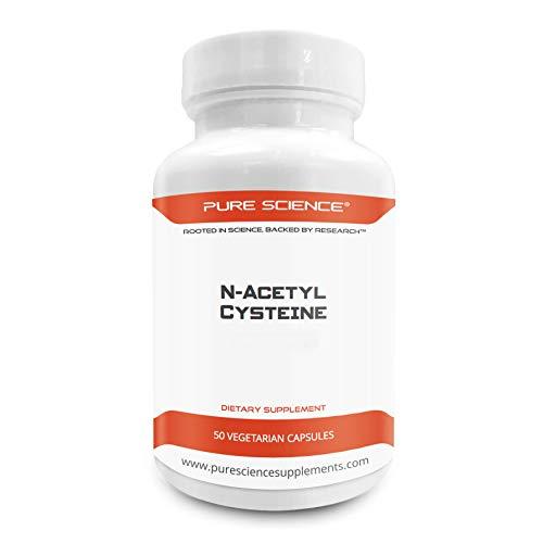 Pure Science N-acetil cisteina 700mg - 50 capsule vegetariane