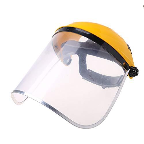 Gwxevce despeja la máscara Completa de la Visera del Casco de Seguridad del Escudo Facial para la construcción automotriz